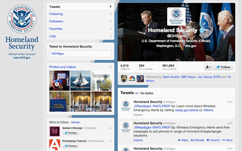 US: Homeland Security needs better Twitter rules