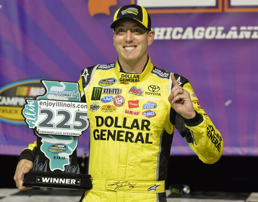 Kyle Busch wins Truck race at Chicago