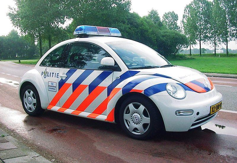 This Volkswagen Beetle belongs to the Dutch Police.