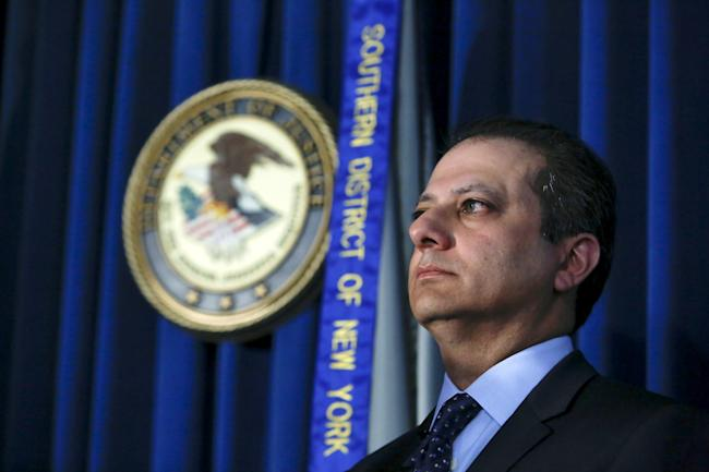 Preet Bharara slams Trump with hard hits - and humor
