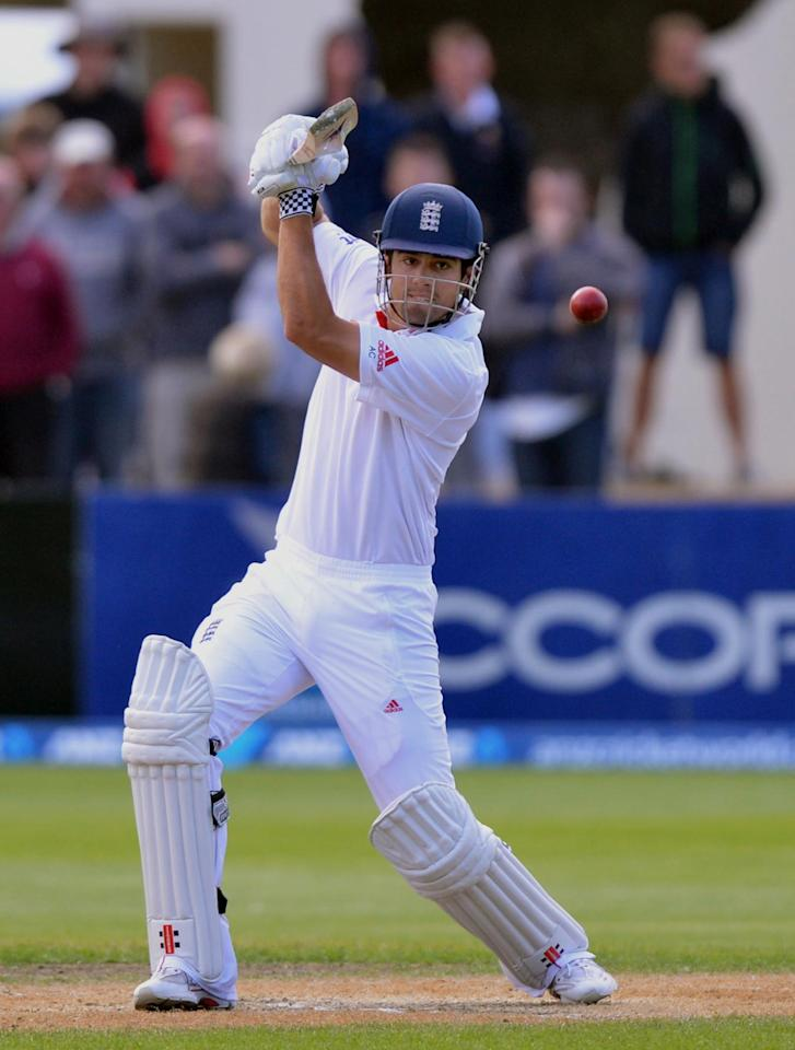 File photo dated 09/03/2013 of England's Alastair Cook.