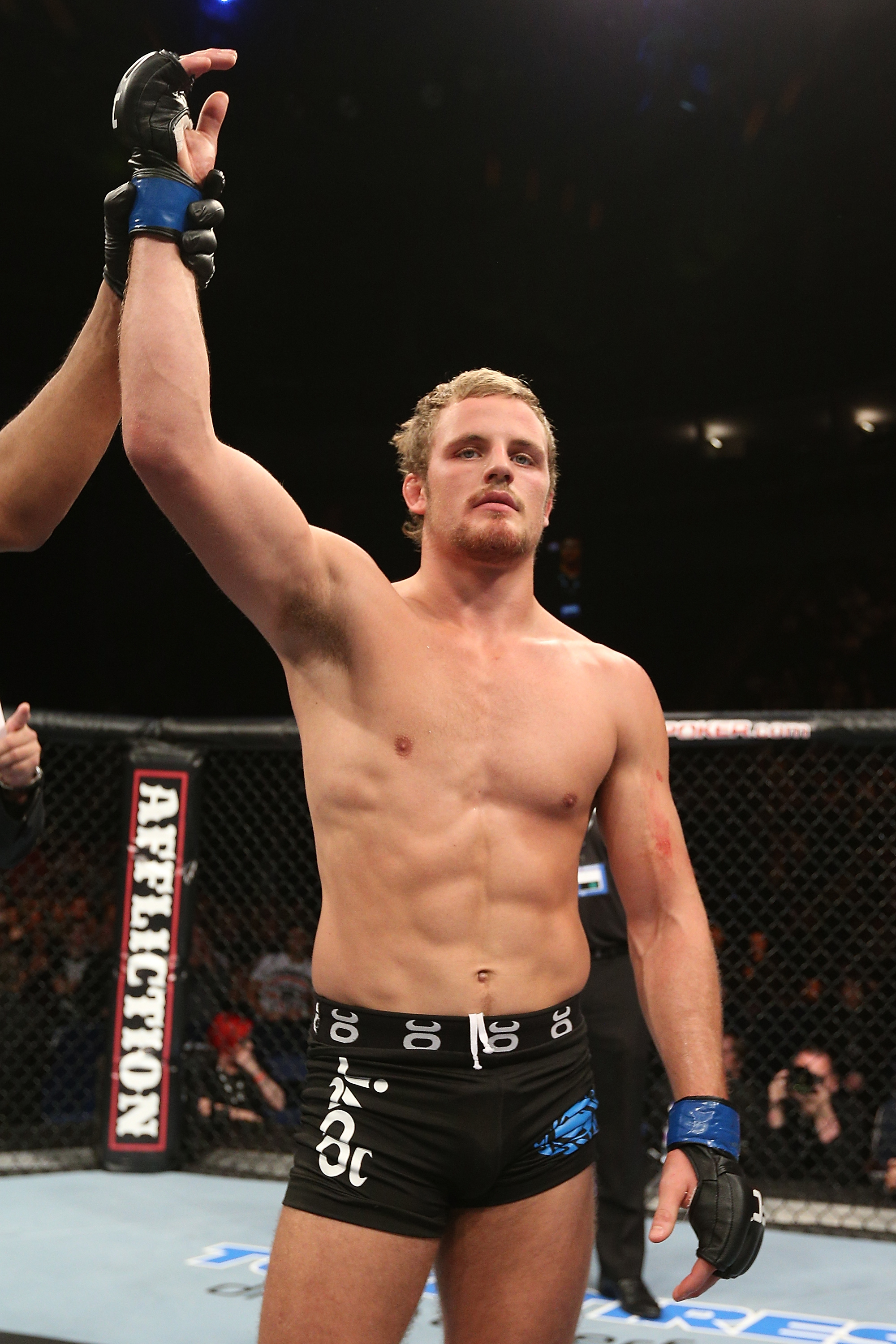 Gunnar Nelson could be on the fast track to UFC glory. (Getty Images)