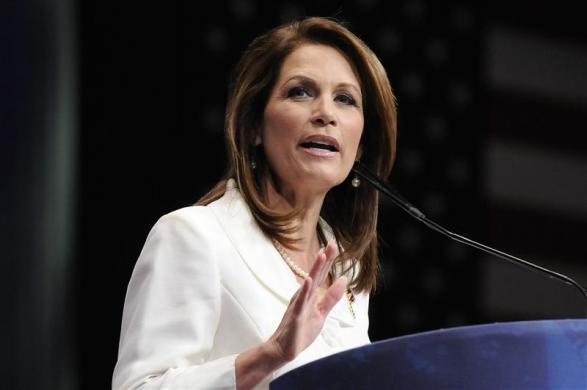 Michele Bachmann addresses the American Conservative Union's annual CPAC in Washington, February 9, 2012.
