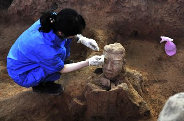 More Terracotta Army warriors unearthed in China