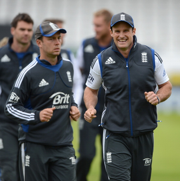 England And South Africa Nets Session