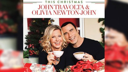 Newton-John & Travolta Reunite for Xmas Album