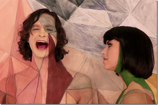 Gotye and Kimbra from