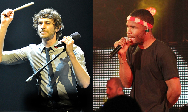 Gotye and Frank Ocean (Photos by Matt Kent/Johnny Nunez/WireImage)