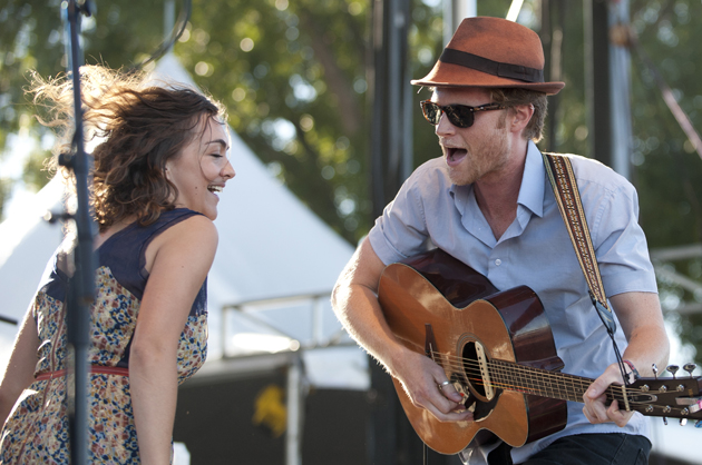 The Lumineers (Photo by Cooper Neill/Getty Images)