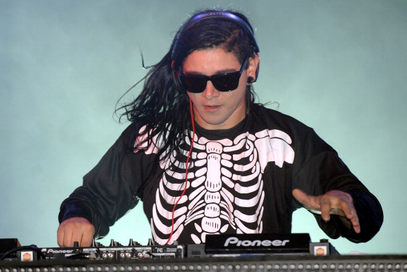 NEW ORLEANS, LA - OCTOBER 28: Sonny Moore aka Skrillex performs as part of the 2012 Voodoo Music Experience at City Park on October 28, 2012 in New Orleans, Louisiana.