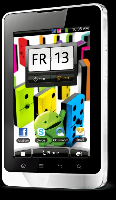 Nexian Five A5000, Android 5 inci Murah Meriah dengan TV Analog