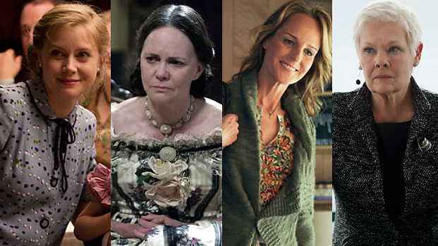 Amy Adams, Sally Field, Helen Hunt and Judi Dench
