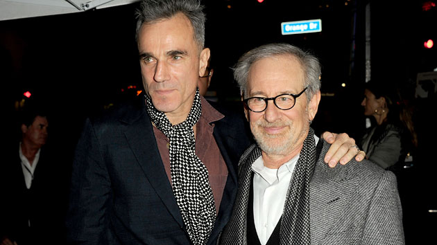 Daniel Day Lewis and Steven Spielberg (Photo by Kevin Winter/Getty Images)