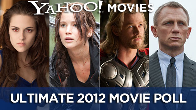 Yahoo! Movies 2012 Year in Review User Poll