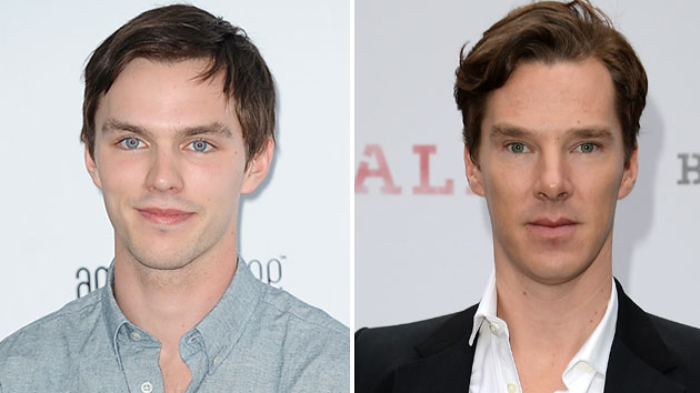 Nicholas Hoult and Benedict Cumberbatch (Photo: Luca Teuchmann/WireImage, Ben Pruchnie/Getty Images)