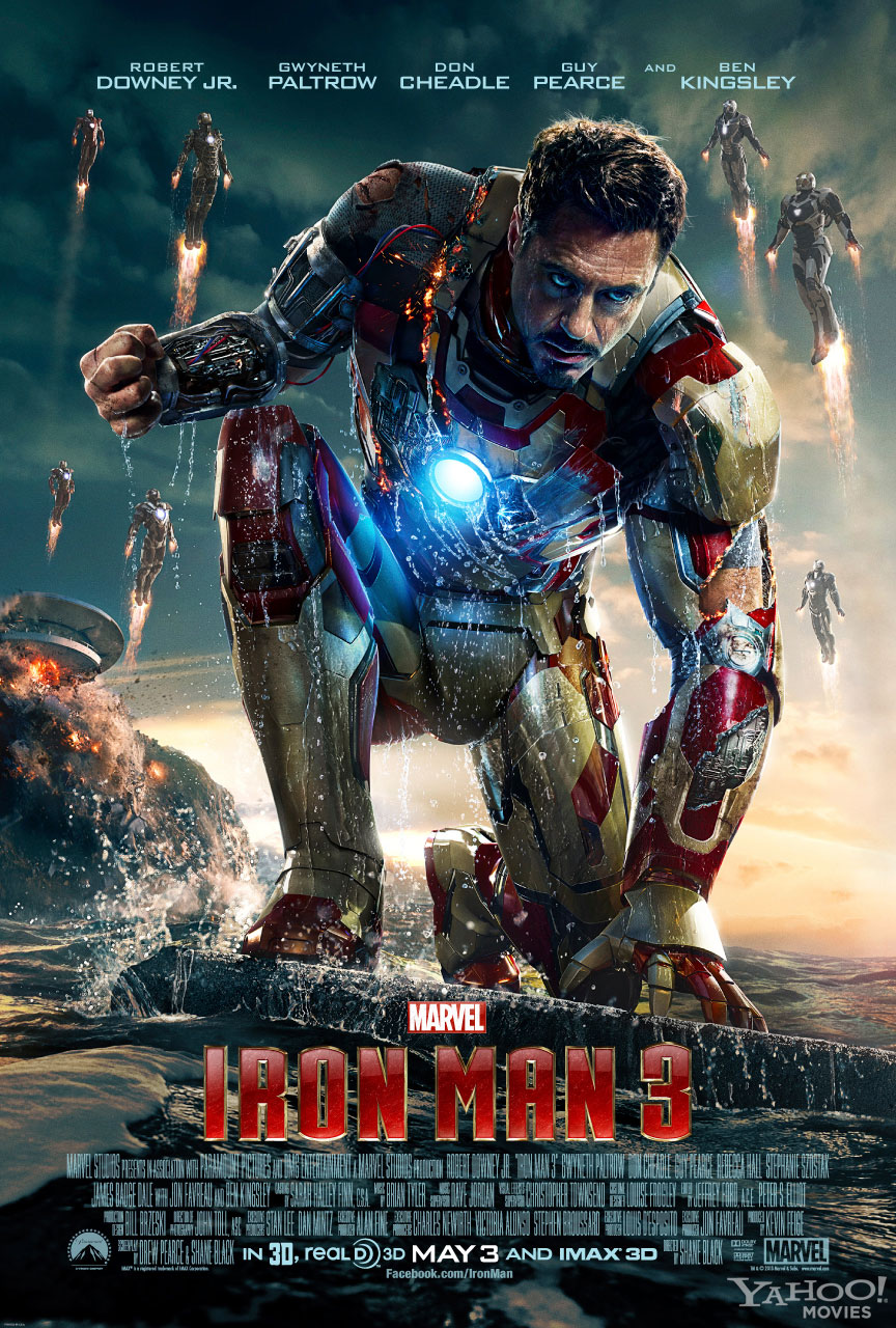 "These Alternative ""Iron Man 3"" Posters Are Pretty Cool Pacific Rim 2013 Bluray"