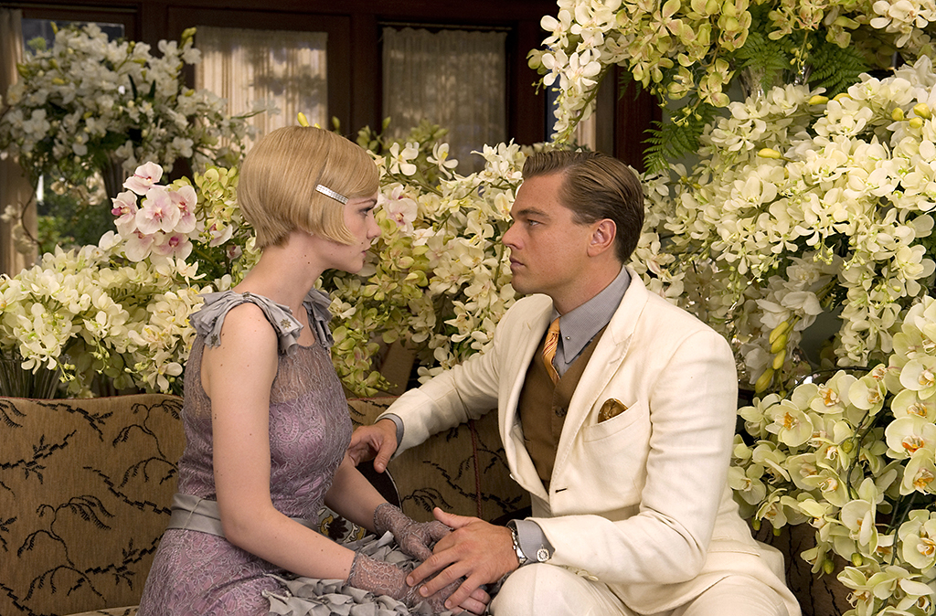 Carey Mulligan and Leonardo DiCaprio in Warner Bros.' 'The Great Gatsby'.