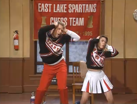 Our Favorite Male Cheerleaders: An Ode to Andy Samberg and His Predecessors