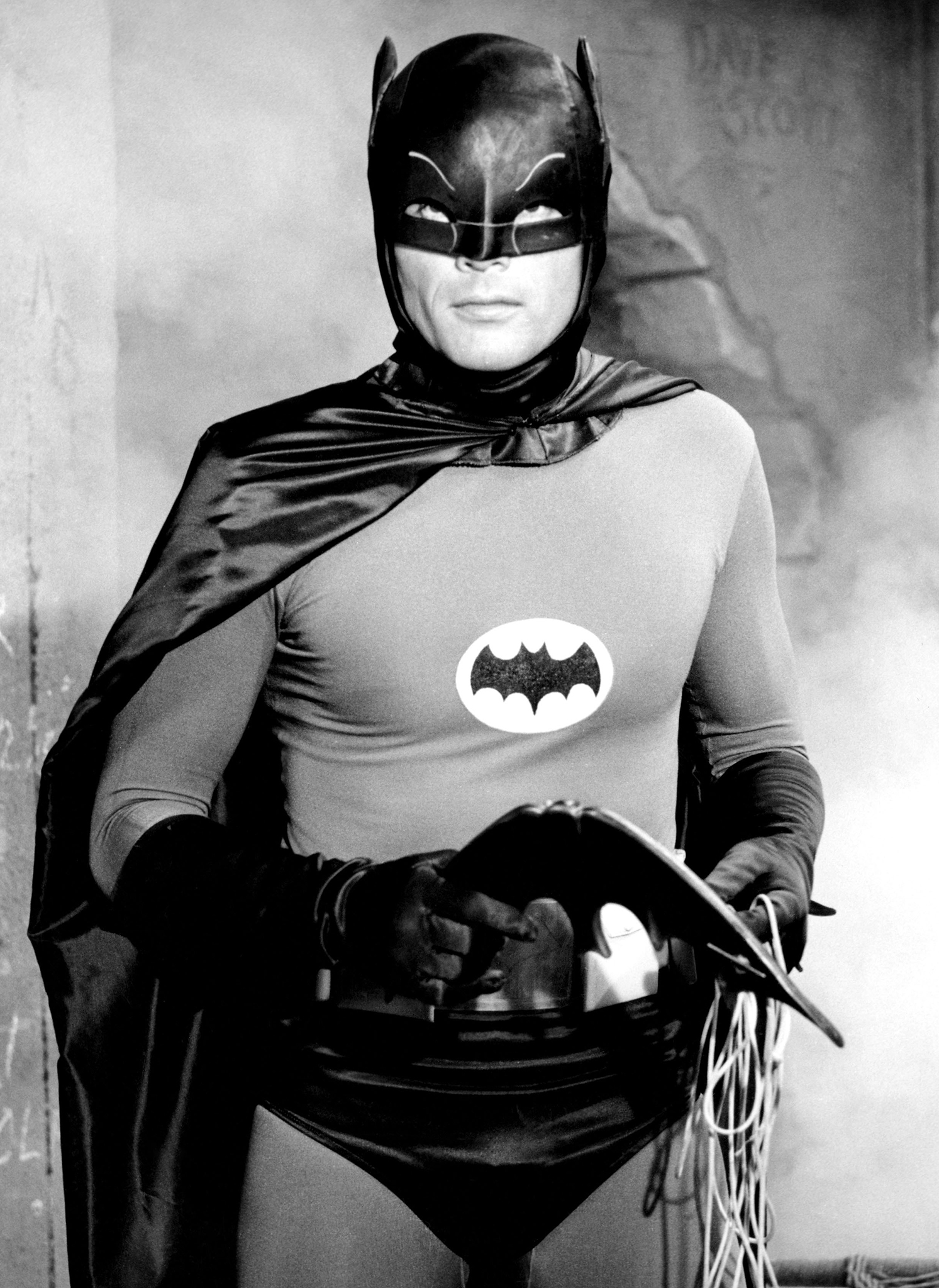 Adam West as Batman in the late '60s (Photo: Everett)