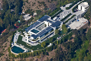 The Anthony Pritzker home in Los Angeles. --Mark Holtzman for The Wall Street Journal