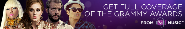 Yahoo! Music's Coverage of the 2012 Grammy Awards