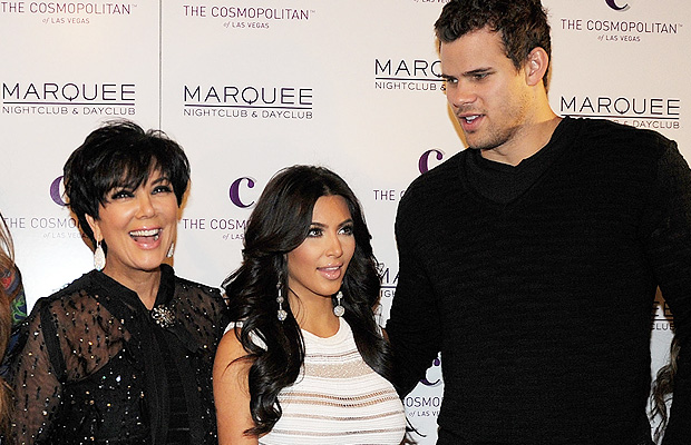 Jenner, Kardashian, and Humphries. (Denise Truscello/WireImage)