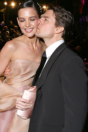 Holmes and Cruise were once so lovey-dovey. ( Eric Charbonneau/WireImage)