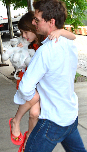 Suri and Tom. (WireImage)