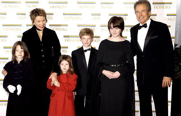 Warren Beatty and Annette Warren Beatty Children 2013