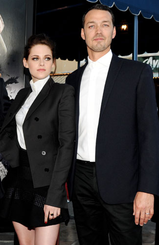 Stewart and Sanders at a screening of Snow White and the Huntsman in May (Getty Images)