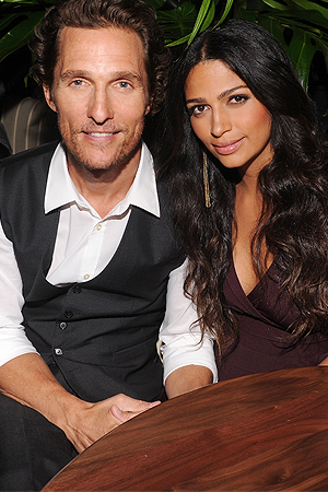 Camila Alves reveals Lance Armstrong was the key to finding love with Matthew McConaughey