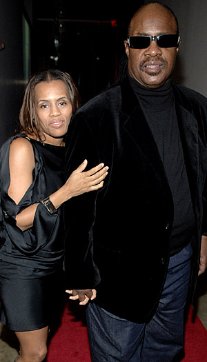 Morris and Wonder. (Jemal Countess/WireImage)