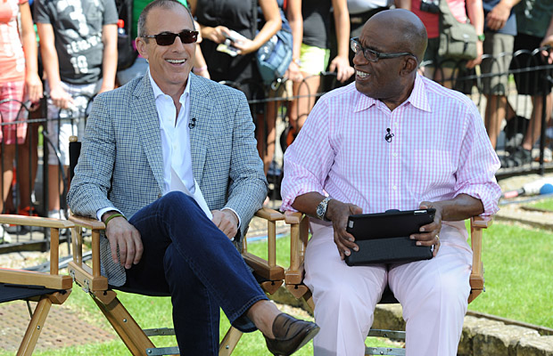 Lauer and Roker. (WireImage)