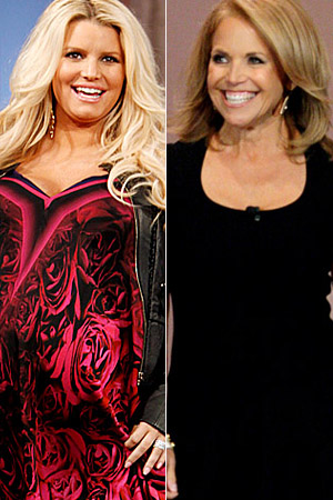 Jessica Simpson will sit down to talk with Katie Couric. (Getty Images)