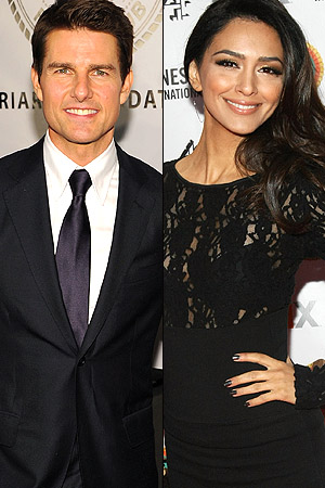 Tom Cruise/Nazanin Boniadi (WireImage)