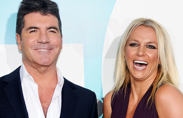 Cowell and Spears. (WireImage)