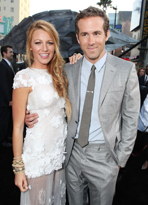 Blake Lively and Ryan Reynolds (Getty Images)