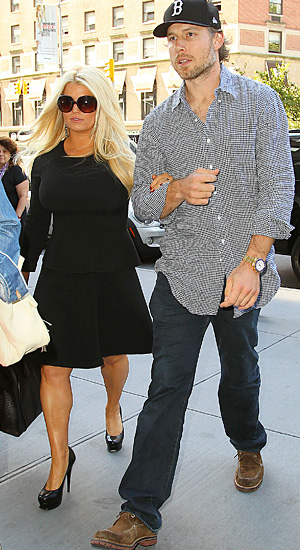 Jessica Simpson and Eric Johnson (Splash News)