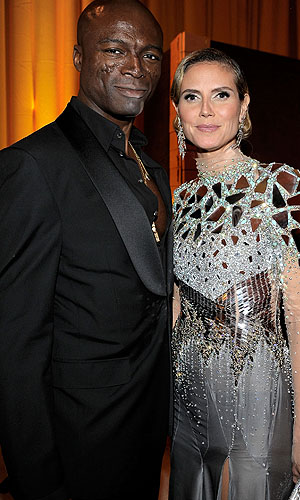 Seal and Klum. (Charley Gallay/WireImage)