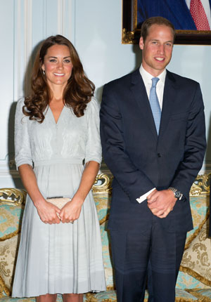 Kate and Prince William on Sept. 13 (Getty Images)