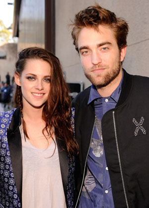 Kristen Stewart and Robert Pattinson (Getty Images)