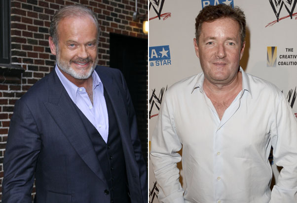 Kelsey Grammer and Piers Morgan (Getty Images)