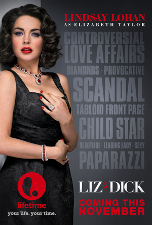 Liz & Dick movie poster. (Richard McLaren/Lifetime)