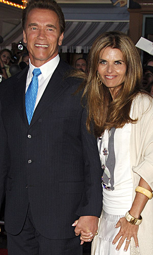Arnold and Maria (WireImage)