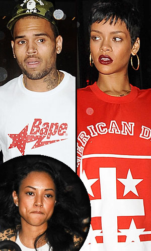 Brown, Rihanna, and Tran are all in NYC. (PacificCoastNews.com)