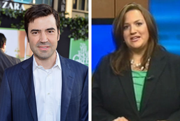 Ron Livingston and Jennifer Livingston (Getty Images, WKBT-TV)