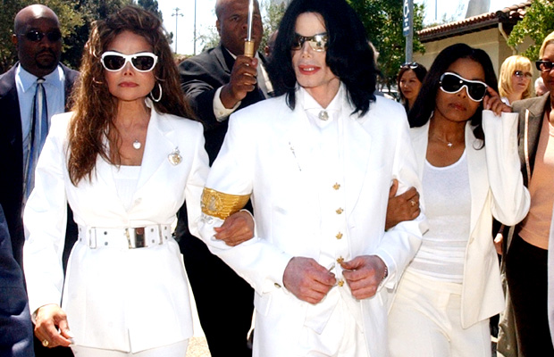 LaToya, Michael, and Janet Jackson. (Edward Souza/WireImage)