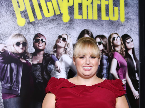 Rebel Wilson at the premiere of 'Pitch Perfect' (Getty Images)