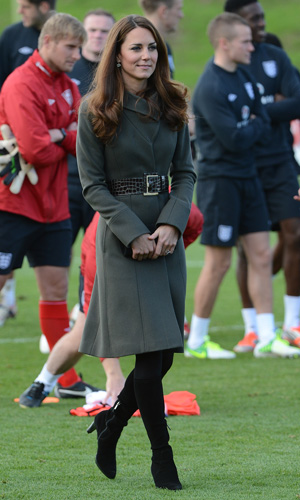 Perpetually rumored pregnant: Duchess Catherine (James Whatling/Corbis)