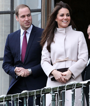 Prince William and Kate Middleton on November 28 (Getty Images)